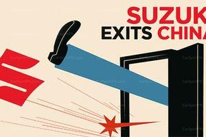 Hãng xe ôtô Suzuki tháo chạy khỏi Trung Quốc