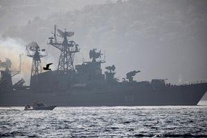 Vì sao Nga điều đội tàu lớn chưa từng có đến gần Syria?