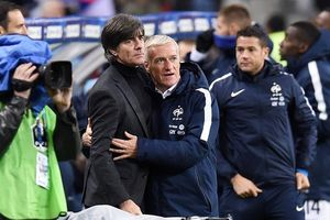 Trước trận Đức - Pháp: Joachim Low hết lời ca ngợi Didier Deschamps
