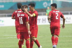 Báo châu Á chấm điểm cao cho Olympic Việt Nam ở Asiad 2018