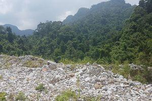 Khai thác vàng vượt chỉ giới, xâm hại rừng đặc dụng hàng chục héc ta