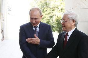 Tổng Bí thư Nguyễn Phú Trọng hội đàm với Tổng thống Liên bang Nga V.Putin
