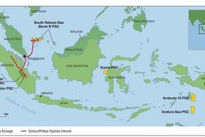 ConocoPhillips đề nghị gia hạn quyền điều hành tại lô Corridor, Indonesia