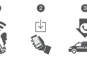 Điện thoại di động có thể nhận biết tai nạn