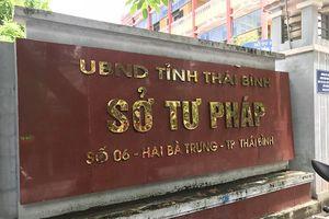 'Chuyện lạ' ở trung tâm đấu giá Sở Tư pháp tỉnh Thái Bình