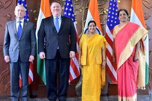 Ấn Độ và Mỹ tiến hành tập trận quy mô lớn vào năm 2019