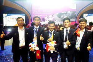SV Trường ĐH GTVT TP.HCM đạt huy chương vàng thi tay nghề ASEAN 12