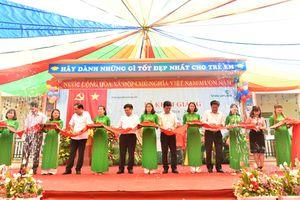 Khánh thành trường mầm non do Vietcombank tài trợ 3 tỷ đồng