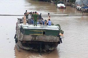 Tìm thấy thi thể người phụ nữ bị dây cáp quang đánh văng xuống sông mất tích