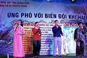 Quảng Nam: Cuộc thi tìm hiểu biến đổi khí hậu qua internet thu hút hàng ngàn người tham gia
