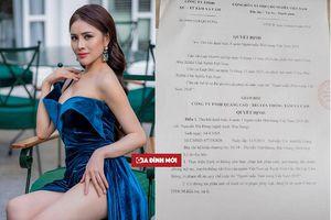 Vướng vào bê bối bán dâm, Thư Dung bị thu hồi danh hiệu Á quân Người mẫu thời trang 2018