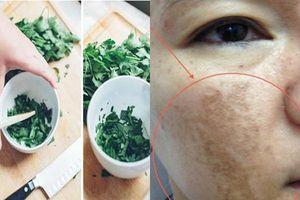 Phụ nữ xưa thường dùng loại rau này để xóa mờ nám, tàn nhang, dưỡng trắng da: Hiệu quả bất ngờ
