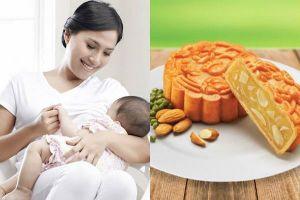 Mẹ mới sinh có ăn bánh trung thu được không