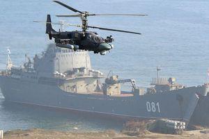 Vì sao Nga tập trận quy mô lớn ở Địa Trung Hải, gần bờ biển Syria?