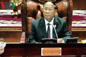 Ông Heng Samrin tái đắc cử Chủ tịch Quốc hội Campuchia Khóa 6