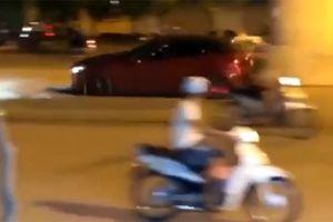 Ô tô Mazda rú ga, nẹt pô, biến đường phố Hà Nội thành trường đua