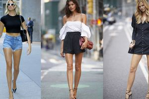 Dàn siêu mẫu khoe chân dài miên man trên phố