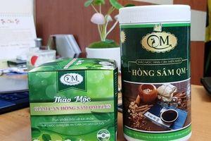 Phạt 50 triệu đồng Công ty TNHH Thảo mộc thiên nhiên Hồng Sâm QM