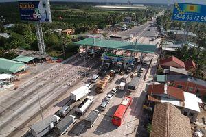 Đề xuất xây thêm trạm thu phí BOT ở Cai Lậy
