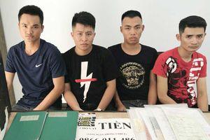 Bắt nhóm từ Hải Phòng vào Đà Nẵng cho vay nặng lãi