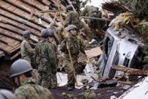 Số nạn nhân thiệt mạng trong trận động đất tại Nhật Bản tăng lên gấp đôi