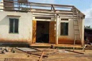 Lâm Đồng: Lốc xoáy kinh hoàng khiến nhiều ngôi nhà bị tốc mái