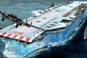 Kinh ngạc dự án chế tạo siêu tàu sân bay thời Thế chiến 2