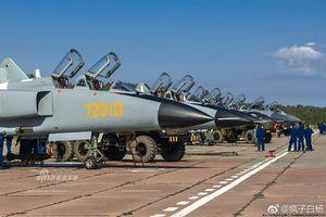 Soi dàn chiến đấu cơ 'khủng' Trung Quốc mang đến Nga tập trận