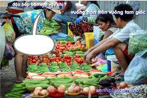 Trào lưu chế 'tròn, vuông, tam giác' đang chiếm sóng mạng xã hội Việt