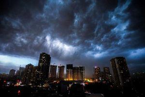 Gió mùa về, miền Bắc mưa dông giảm nhiệt đột ngột