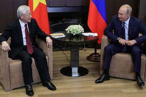 Xung lực mới cho quan hệ Đối tác chiến lược toàn diện Việt - Nga