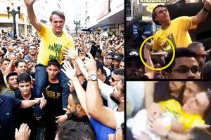 Ứng viên Tổng thống Brazil bị đâm giữa cuộc mít-tinh