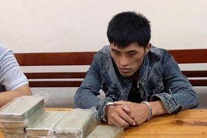 Bắt đối tượng người Lào vận chuyển 10 bánh heroin về Việt Nam tiêu thụ