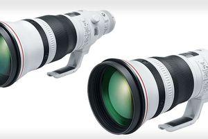 Canon ra mắt 2 ống kính tele 400mm f2.8L IS III và 600mm f4L IS III, nhẹ hơn tới 20%