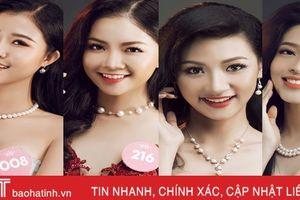 Các thí sinh gốc Hà Tĩnh sẽ 'ẵm' nhiều giải thưởng phụ Hoa hậu Việt Nam?