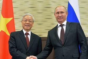 Nâng tầm quan hệ đối tác toàn diện Việt - Nga