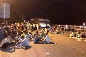 Tạm giữ 9 người vụ phản đối nhà máy rác tại Quảng Ngãi
