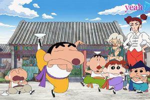 Trailer mới nhất của 'Shin - Cậu bé bút chì: Kung Fu boys – Mì ramen đại chiến' đậm chất võ thuật lợi hại