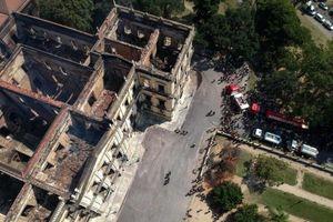 Vụ cháy bảo tàng Brazil: Hàng trăm cổ vật Ai Cập bị hư hại