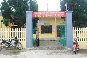 Xã Vĩnh Phúc xây dựng thiết chế văn hóa thể thao