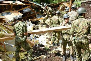 Thương vong tiếp tục tăng sau trận động đất tại Nhật Bản