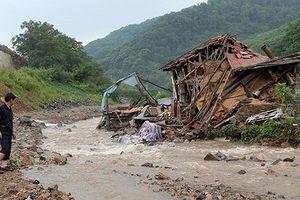 Triều Tiên: Lũ lụt nghiêm trọng làm ít nhất 76 người chết