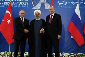 Nga, Iran và Thổ Nhĩ Kỳ còn những bất đồng về vấn đề Idlib của Syria