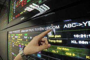 UPCoM: Nặng nợ với cổ phiếu yếu