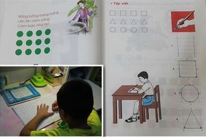 Thực hư cách đọc ô vuông, tam giác trong sách Tiếng Việt Công nghệ giáo dục