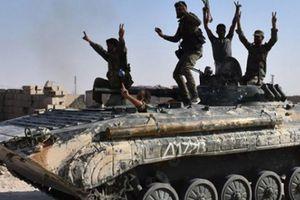 Quân đội Syria 'nghiền nát' phiến quân khủng bố tại miền nam