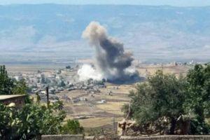 Máy bay Nga và Syria 'ném bom Idlib tới tấp'