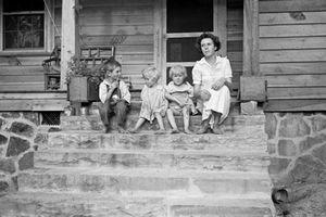 Ảnh sốc về trẻ em Mỹ trong cuộc Đại suy thoái thập niên 1930