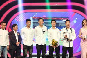 Đội U.23 Việt Nam thắng lớn tại lễ trao giải VTV Awards 2018