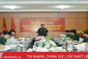 Đảng ủy BĐBP Hà Tĩnh siết chặt công tác kiểm tra, giám sát, kỷ luật của Đảng